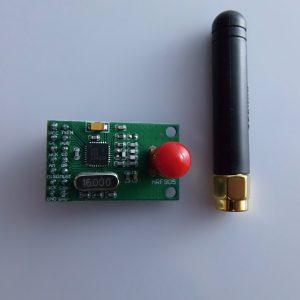 NRF905 Wireless Communication Transmission Modulo Arduino compatibile (PTR8000?+) con unntenna 433/486/915MHz