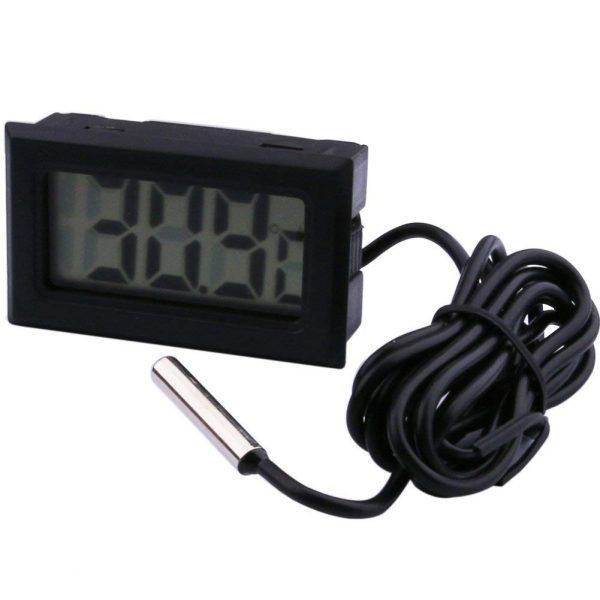 Termometro Digitale T110 rilevamento temperatura da -50 a +110 con sonda 2M