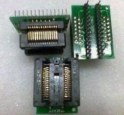 SOP28 to DIP28 ,conversion seat , IC test blocks, Adattatore seat, burning blocks