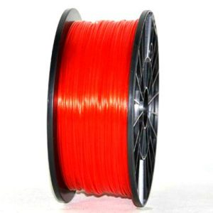 PLA 3.00mm 1KG 3D printer consumables red HIGH QUALITY GARANTITA SU MAKERBOT, MULTIMAKER, ULTIMAKER, REPRAP, PRUSA