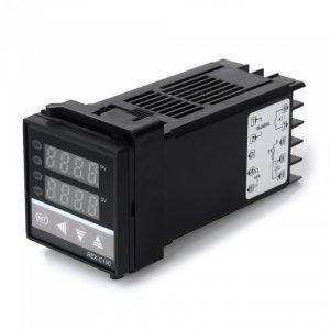 Termostato Termoregolatore di Temperatura Digitale REX-C100 Dual PID Controller con Display