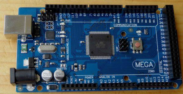 SCHEDA MEGA 2560 REV3 BOARD ARDUINO COMPATIBILE ATmega2560