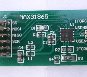 MAX31865 RTD-to-Digitale Convertitore output PT100 / PT1000 Temperatura Misurazione Modulo