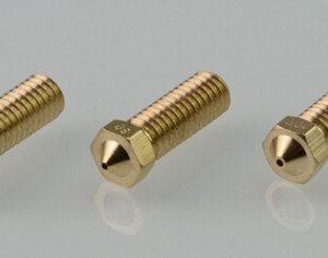 Ugello Estrusore in Ottone 0.6mm E3DV6 per Filamenti da 3.00mm per Stampante 3D