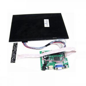 10.1 Inch 40pins 1280(RGB)*800 TFT EJ101IA-01G LCD Schermo Display With Remote Driver Control Board 2AV HDMI VGA