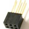 5 Pezzi 2*3 2.54mm Long Pin Header Femmina Connettore Plug