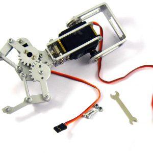 Braccio Robotico 2DOF con Pinza e Servo Motore