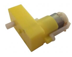 DC3-6V Single Axis L type 1:120 Reduce Rate TT Motore