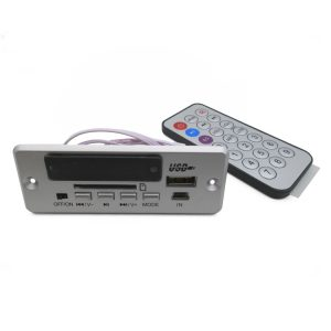 Super Digitale lossless WAV audio decoder board MP3 decoder player FM radio 6-12V