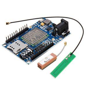 A7 GSM GPRS GPS 3 In 1 Modulo Shield DC 5-9V STM32 51MCU per Arduino Supporto Vocale